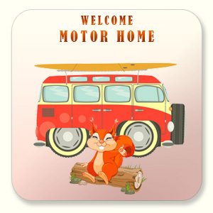 Campsites for motor-home