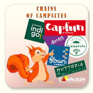 Chains of campsites