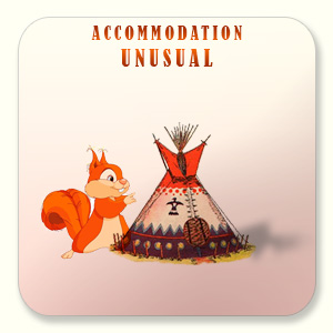 Unusual accommodations