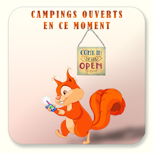 Campings ouverts en ce moment